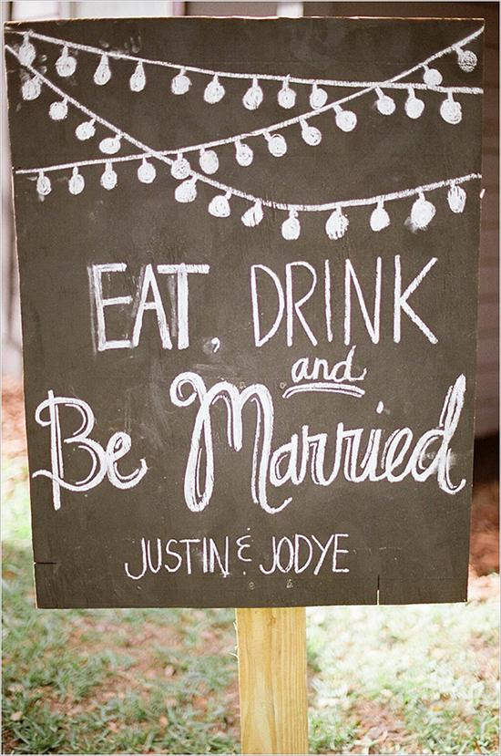 eatdrinkandbemarriedsign